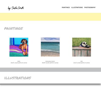 Sacha's graphic design portfolio